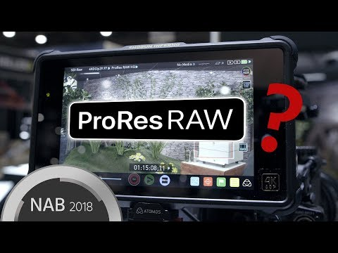 ProRes RAW Explained – Plus Footage