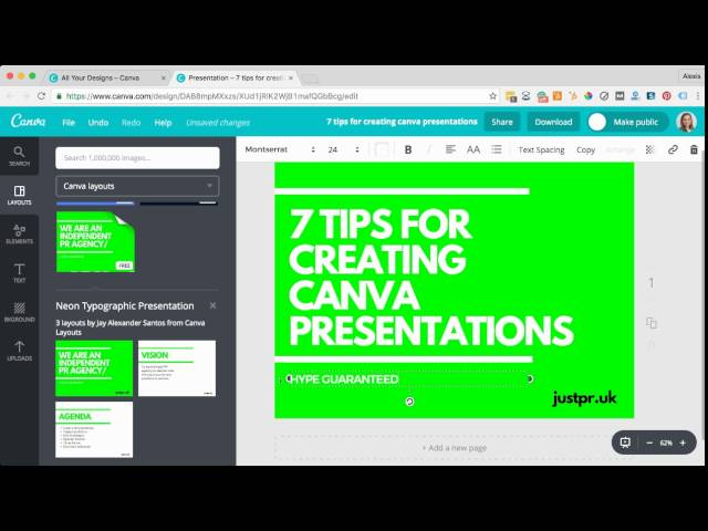 Become The Michelangelo Of Canva Presentations With 7 Easy Tips