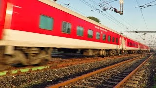 Red LHB Trains - The Future of Indian Railways