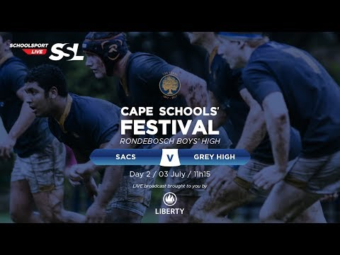 Cape Schools: SACS 1st XV vs Grey High 1st XV,  03 July