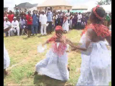 The Rich Culture of  The Niger Delta People Displayed in This Energetic Urhobo Dance  Nigerian Child