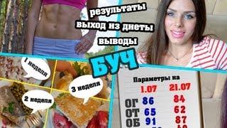 ►БУЧ◄ Результаты | Выход из диеты | Выводы