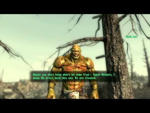 Fallout 3 - Random Encounter - Uncle Leo (FRIENDLY SUPER MUTANT)