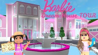 Barbie Dream House Tour!! II Roblox Bloxburg