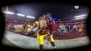 Experience the 2017 Pac-12 Football Championship Game celebration with USC football in VR180 thumbnail