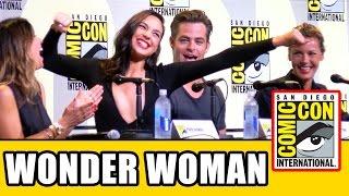 WONDER WOMAN Comic Con Panel Highlights - Gal Gadot, Chris Pine, Connie Nielsen, Patty Jenkins