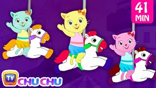 Video Three Little Kittens Went To The Theme Park - Nursery Rhymes by Cutians | ChuChu TV Kids Songs download MP3, 3GP, MP4, WEBM, AVI, FLV Januari 2018