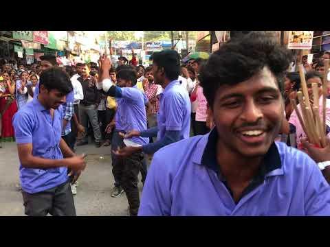 A.M .REDDY college 2k17 flashmob