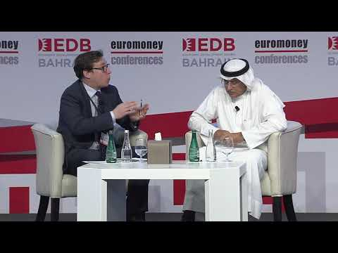 GCC Financial Forum 2018: Zayed Alzayani Minister of Industry, Commerce and Tourism