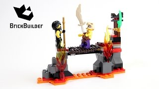 Lego Ninjago 70753 Lava Falls - Lego Speed Build
