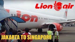 Lion Air JT 160 Jakarta To Singapore Flight Review