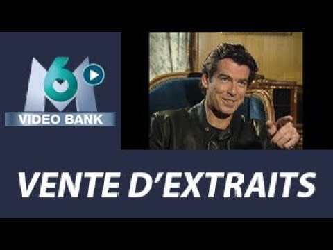 Extrait archives M6 Video Bank //  Pierce Brosnan - Acteur double