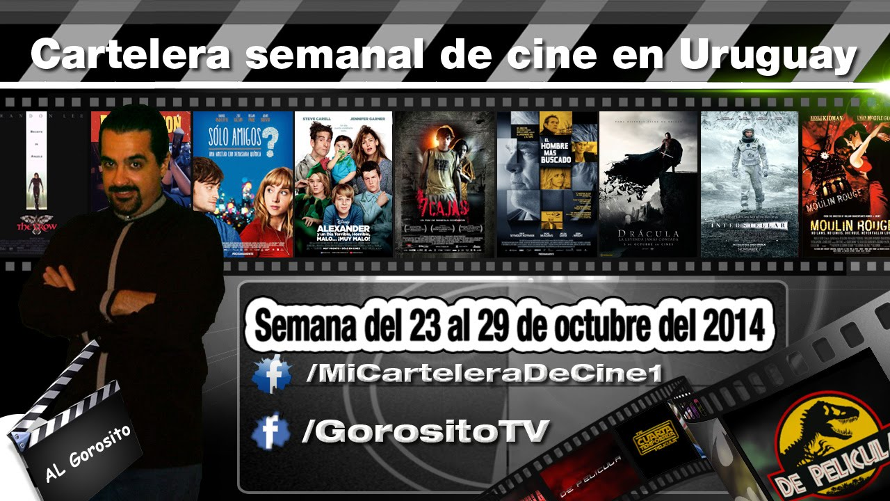 Ver CARTELERA SEMANAL DE CINE – Alexander y un día terrible / 7 cajas / El hombre mas buscado en Español