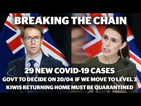 29 new Covid-19 cases, Government to decide on April 20 if NZ ready to return to level 3