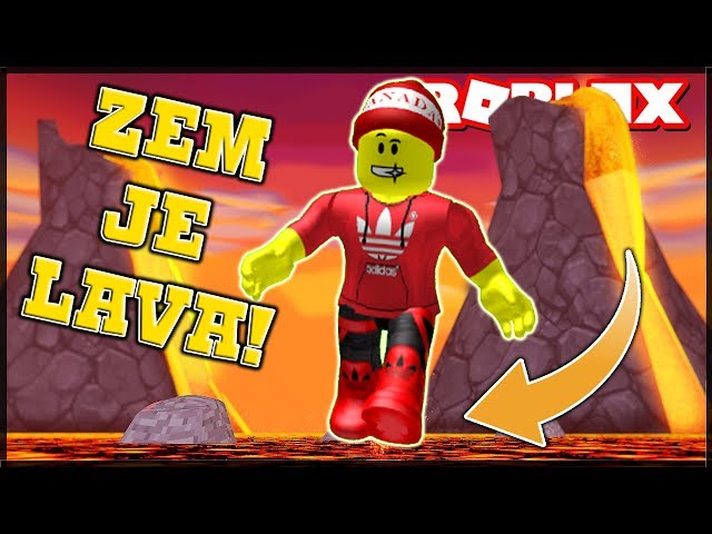 ZEM JE LÁVA CHALLENGE!!! - Roblox: The Floor is LAVA!!
