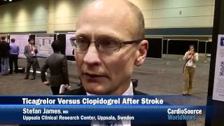 Flash Lecture: Ticagrelor vs. Clopidogrel in Patients with Stroke or TIA