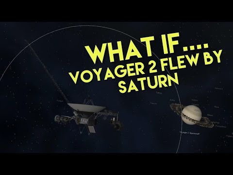 WHAT IF VOYAGER 2 FLEW BY SATURN | Oh ya it did ;)