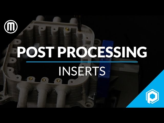 Finishing 3D Prints 101: How to Install Threaded Inserts in your 3D Prints