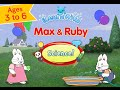 Max & Ruby! Science Educational Games by Tribal Nova - Best iPad app demo for kids