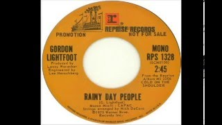 Gordon Lightfoot - Rainy Day People (1975)