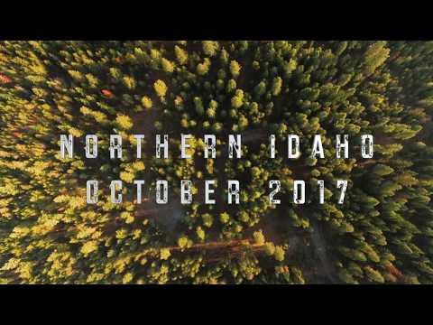 4k Northern Idaho Drone Footage - October 2017
