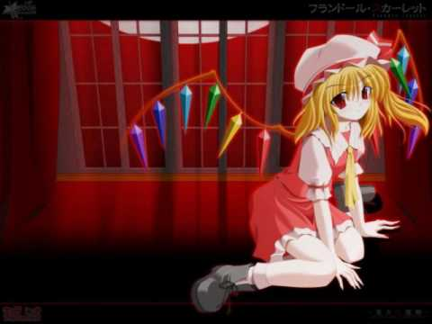 flandre and hatsune miku-sweet time