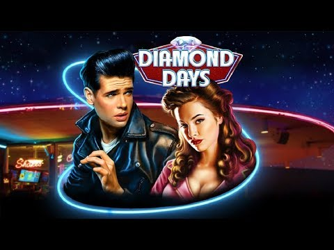 Diamond Days Slot - ALL BONUS FEATURES - MAX BET!