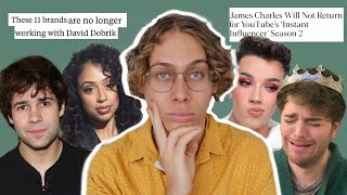 David Dobrik Sorry He Got Caught, James Charles Dropped by Youtube, Shane Dawson Returns...