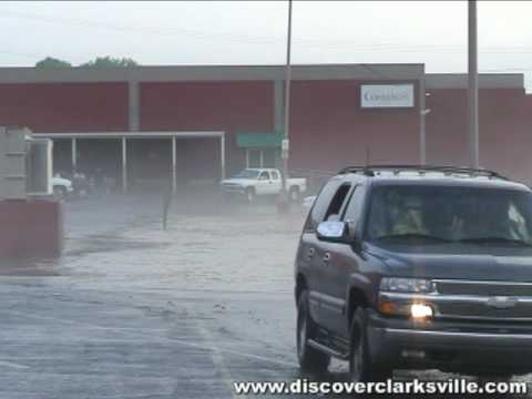 2010 Clarksville TN Flood - Behind Two Rivers Mall
