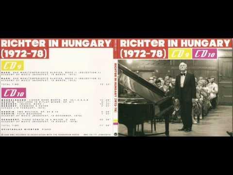 Sviatoslav Richter in Budapest, 1978 - Schubert Sonata D.664