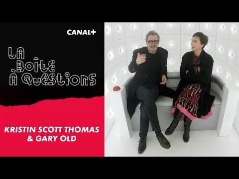 La Boîte à Questions de Kristin Scott Thomas & Gary Oldman –  11/12/2017 streaming vf