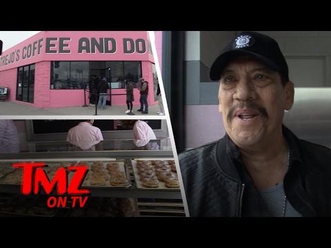 Inside Danny Trejo's New Doughnut Shop!   TMZ TV
