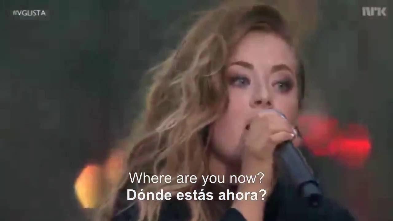 Alan Walker ft Iselin Solheim - Sing Me To Sleep & Faded [ En Vivo ] Sub Español 2016