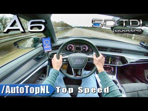 2019 AUDI A6 50 TDI 3.0 V6 AUTOBAHN POV 264km/h TOP SPEED by AutoTopNL