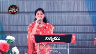 Latest worship song Aradhana sthuthi By Nissy Paul