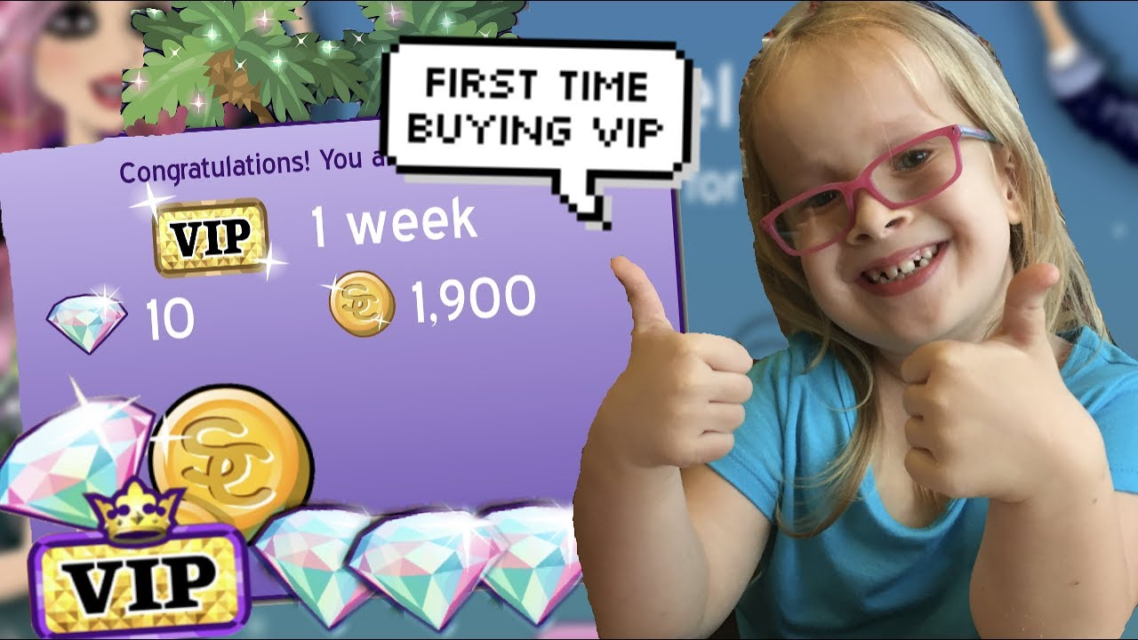 MY LITTLE SISTER BUYS MSP VIP FOR THE FIRST TIME!!!