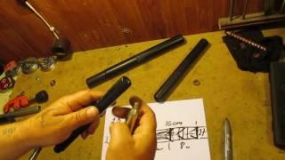 як зробити глушник для карабіна своїми руками