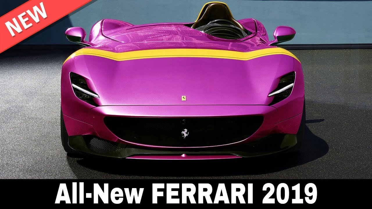 8 new ferrari cars from the world u0026 39 s best known supercar manufacturer in 2019