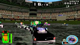 SUNDAY CLASSICS - Demolition Racer Arena Gameplay