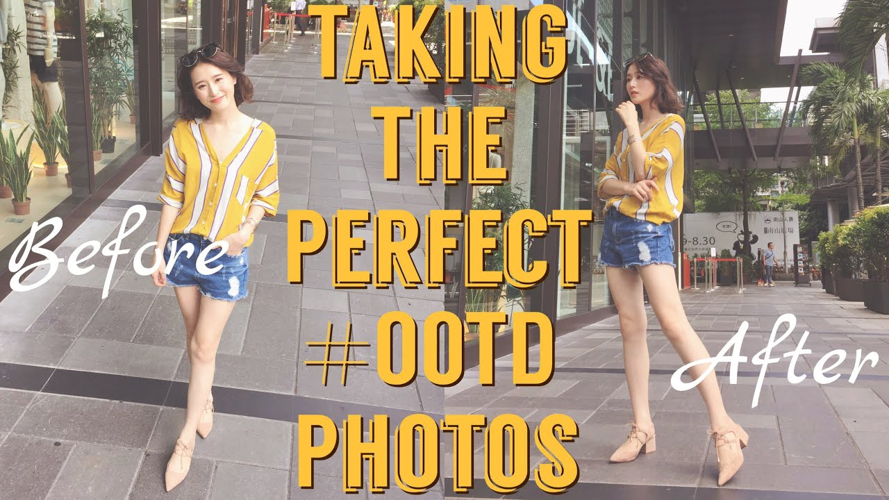 如何拍出逆天長腿照 ::How To// Taking The Perfect #OOTD Photos