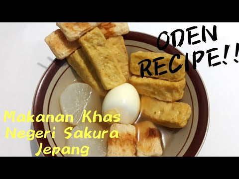 Cara Membuat Oden Makanan Khas Negeri Sakura Jepang Youtube