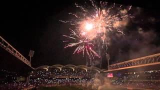 Feu d'artifice – Stade de Gerland – Dernier match