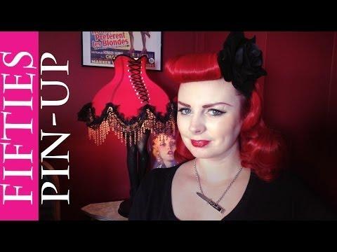 Vintage Hair | Bettie Page Fringe & Waves