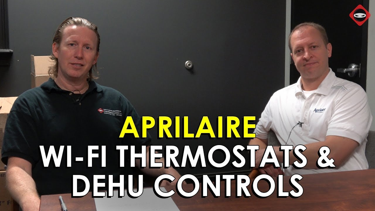 Aprilaire Wi-Fi Thermostats & Dehumidifier Control | Interview With Brian  From Aprilaire