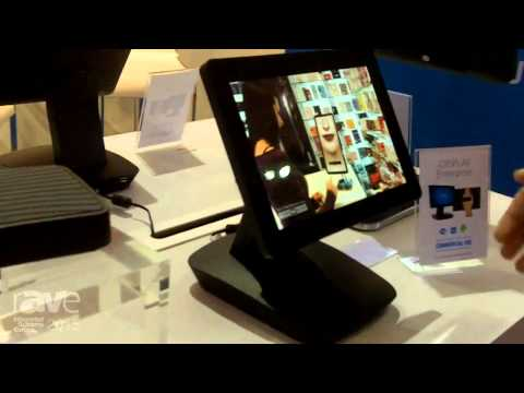 ISE 2015: Outform Talks About the iDISPLAY Enterprise with 10″ Screen