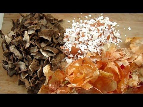 Сухари и Очистки для Огорода   Польза или Зря потраченное время