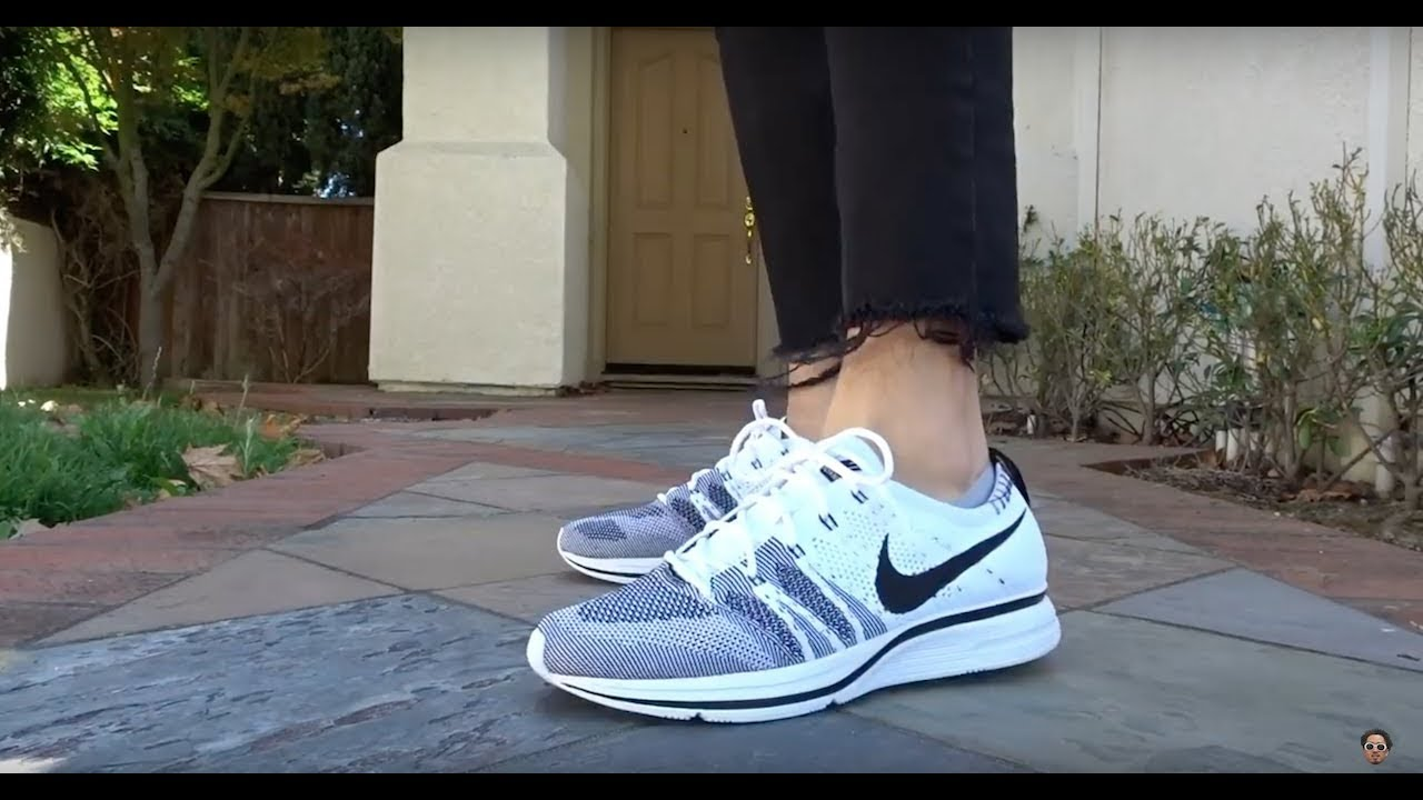 promo code 0aa4e d5731 UNBOXING  SUNSET TINT + WHITE FLYKNIT TRAINERS! REALEST ON FOOT ON YOUTUBE!