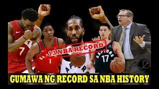 NBA CHAMPION TORONTO RAPTORS | Gumawa ng 13 RECORD sa NBA HISTORY