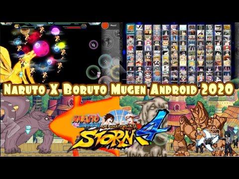 Naruto X Boruto Storm 4 Mugen Android Apk Style (2020)