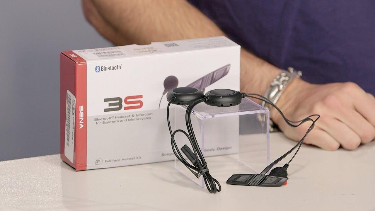 94e16e82169 Sena 3S Bluetooth Headset Review at RevZilla.com - YouTube